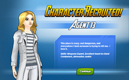 Character Recruited! Agent 13