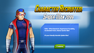 Character Recruited! Spider-Man 2099