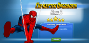 Character Upgraded! Spider-Man Rank 5