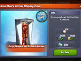 Iron Man's Armor Display Case