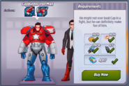 Capbuster Iron Man
