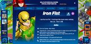 Iron Fist's profile