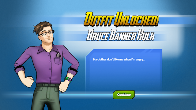 File:Outfit Unlocked! Bruce Banner Hulk.png
