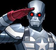 Captain America (Robot) (Earth-TRN562) from Marvel Avengers Academy 001