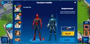Iron Spider-Man Van Dynes