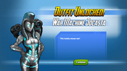 Outfit Unlocked War Machine Jocasta