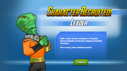 Character Recruited! Leader