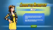 Character Recruited Wasp