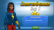 Character Upgraded! Ms. Marvel Rank 3