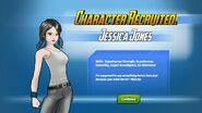 Character Recruited Jessica Jones