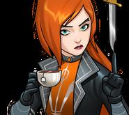 Elsa Bloodstone (Earth-TRN562) from Marvel Avengers Academy 002