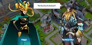 Mythical Thor and Frigga
