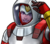 Falcon Astronaut Icon