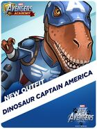 New Outfit Pet Avengers Event Dinosaur Captain America
