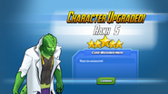 Character Upgraded! The Lizard Rank 5