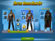 Doctor Voodoo Ranks