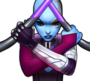 Nebula (Earth-TRN562) from Marvel Avengers Academy 003