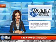 World news logo