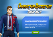Character Recruited! Union Jack