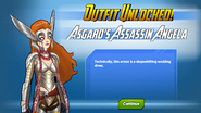 Outfit Unlocked! Asgard's Assassin Angela