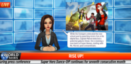 Marvel Rising Event newscast