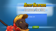 Outfit Unlocked! Labrador Iron Man