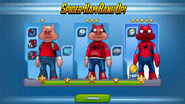 Spider-Ham All Ranks