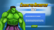 Character Recruited Hulk