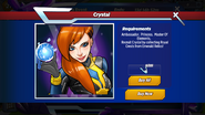 Crystal Requirements