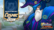 New Outfit! Cosmic Odin