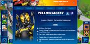 Yellowjacket profile