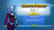 Character Upgraded! Nebula Rank 5