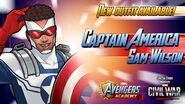 New Outfit Available! Captain America Sam Wilson