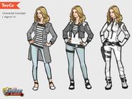 Agent 13 Concept Art