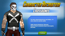 Character Recruited! Crossbones