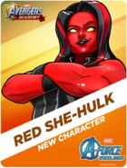 New Character! Red She-Hulk