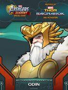 Returning hero Thor Ragnarok Event Odin