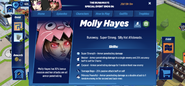 Molly Hayes Profile