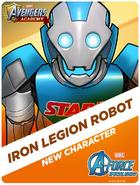 New Character! Iron Legion Robot