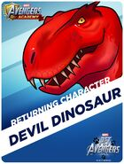 Returning Hero Pet Avengers Event Devil Dinosaur