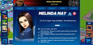 Melinda May Profile