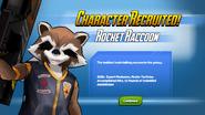 Character Recruited! Rocket Raccoon