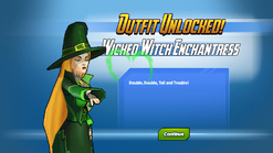 Outfit Unlocked Wicked Witch Enchantress