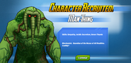 Character Recruited! Man-Thing