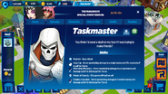 Taskmaster's Profile
