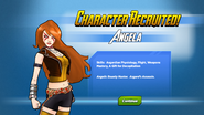 Angela Recruited