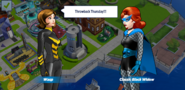 Classic Black Widow and Wasp