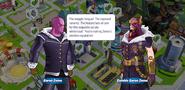 Baron Zemo and Zombie Baron Zemo