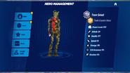Teen Groot Rank 1 outfit