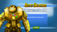 Outfit Unlocked! Thanosbuster Iron Man